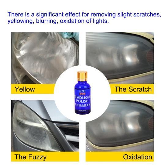 High Density Headlight Polish Liquid