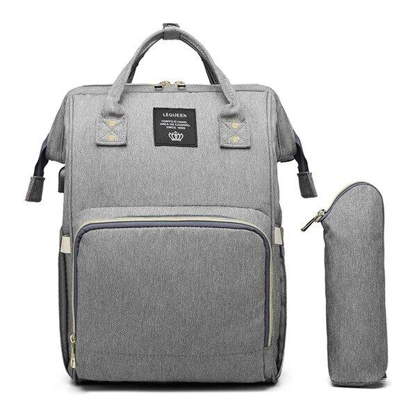Premium USB Diaper Bag