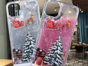 【Christmas sale】Flash powder mobile phone case