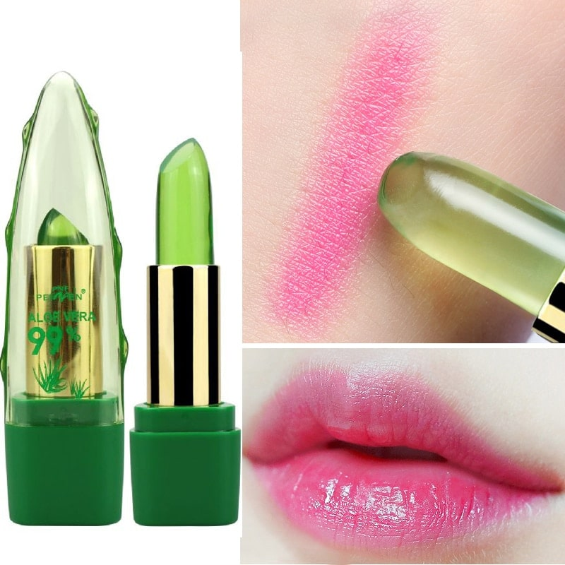 Colour Changing Aloe Vera Lipstick - Buy Today Get 75% OFF – Wowelo
