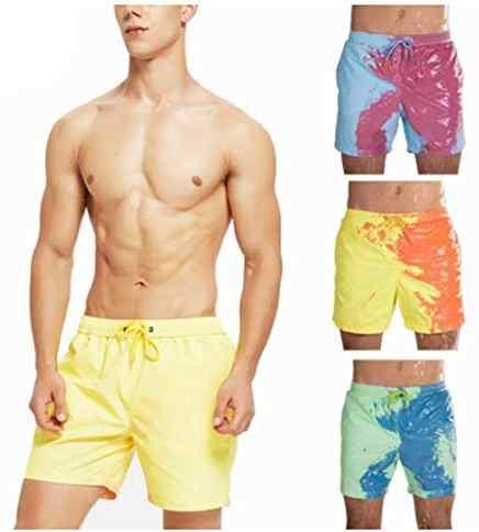 Geadf S1 – Temperature-sensitive color-changing beach pants swim trunks