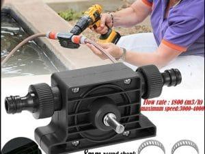 Electric Drill Drive Pump