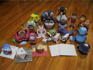 Action Paper Craft Kit By Haruki Nakamura
