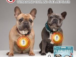 Ultrasonic Flea and Tick Repeller