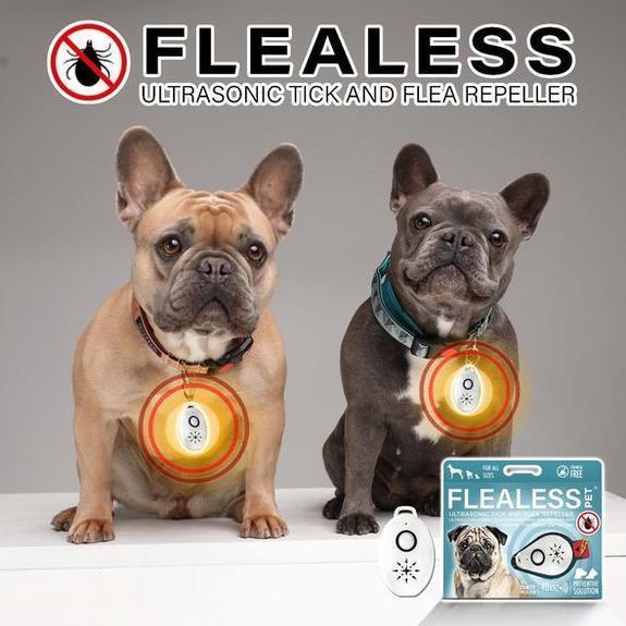 Ultrasonic Flea and Tick Repeller