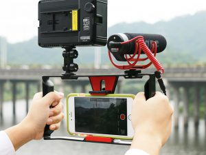 Smartphone Rig For Vloggers