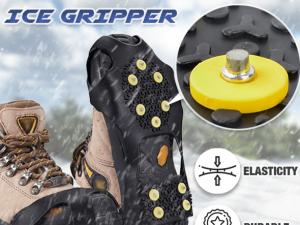 10 Studs Ice Gripper Spike Anti-Skid