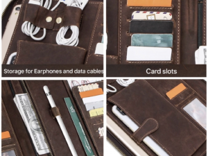Handmade Vintage Leather Padfolio
