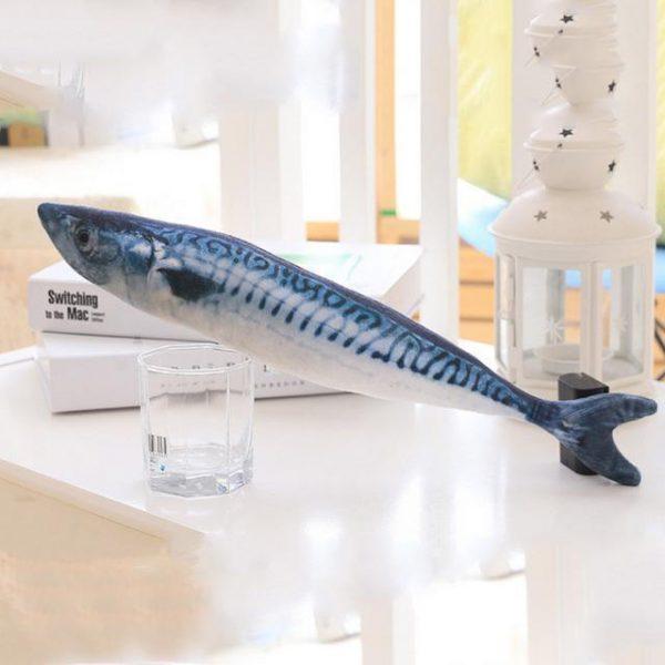 Cat Kicker Fish Toy