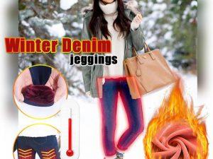 Winter Denim Jeggings