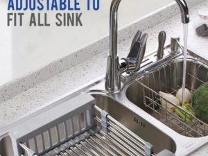 Kitchen Retractable Drainer Rack