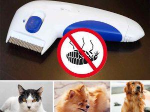 Electric Flea Cleaner Comb