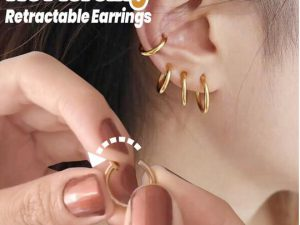 No Piercing Retractable Earrings