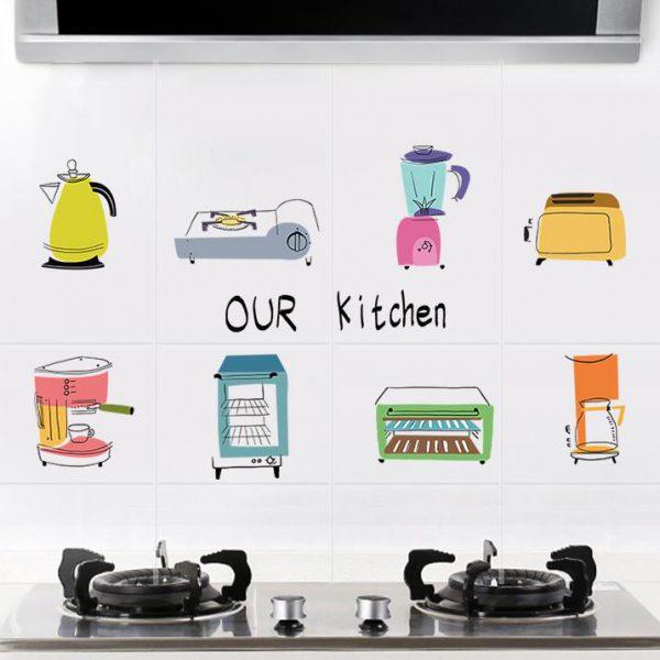 Kitchen Home Anti-smoke Wallpaper
