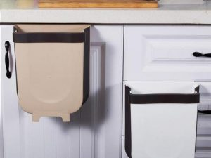 Press & Pull - Wall Mounted Waste Bin
