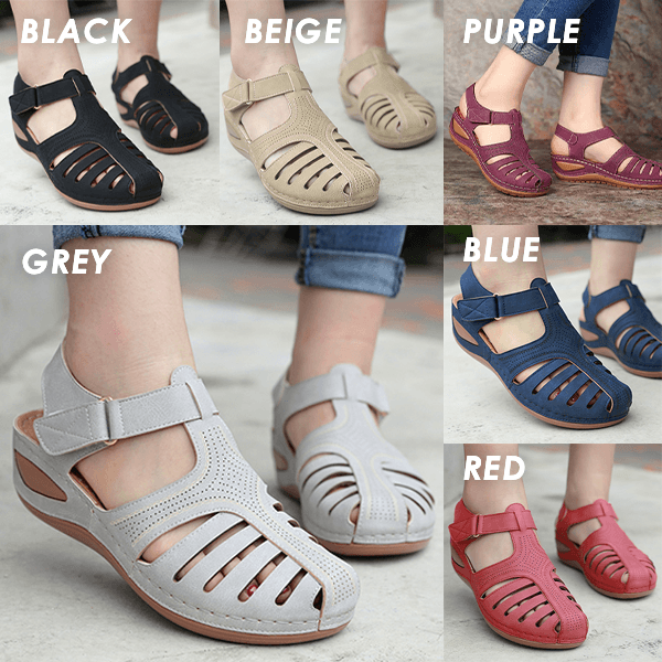 Retro Non-Slip Women Sandals