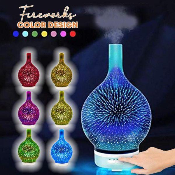 Firework Glass Atmospheric Diffuser