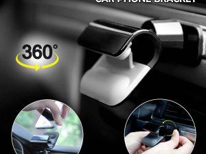 Multi-Usage Rotatable Car Phone Bracket