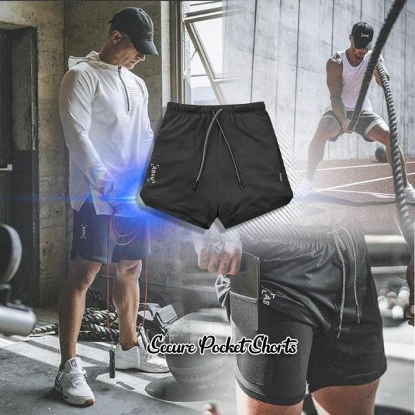 Secure Pocket Shorts