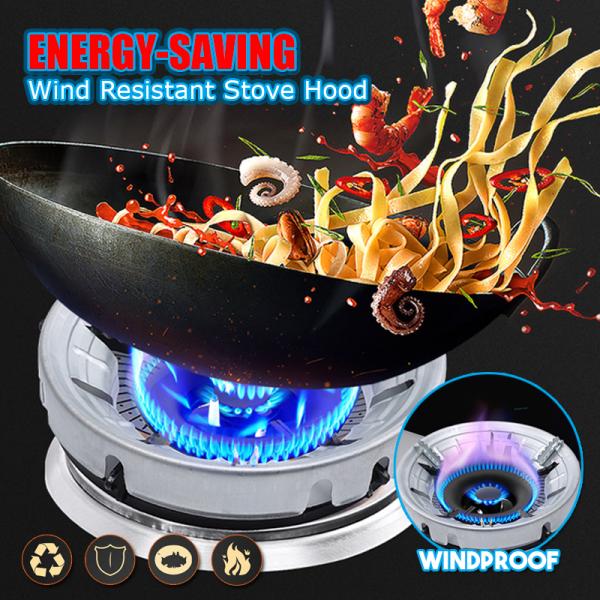 Energy-Saving Wind Resistant Stove Hood