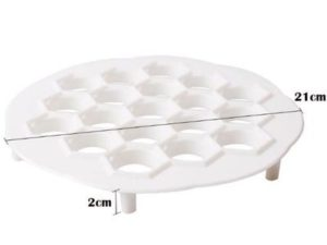 Kitchen 19Hole Dumpling Mold