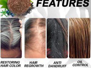 Hair Darkening Shampoo Bar