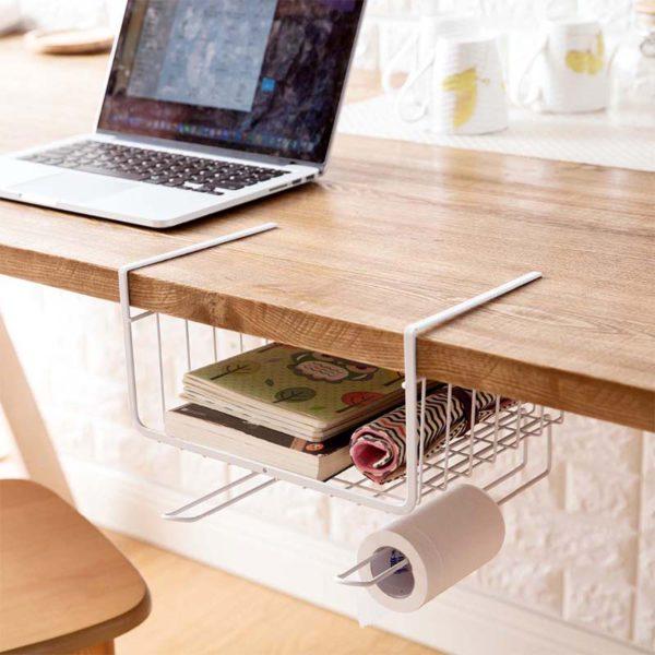 Creative Kitchen Cabinet Drawer Basket