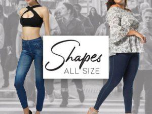 Shaping Denim Leggings