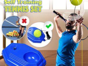 Portable Self Training Tennis Trainer