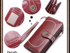 RFID Safe Large Women's Wallet