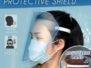Face-Cover Protective Shield (BUY 1 GET 1 FREE)