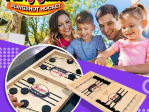 Slingshot Hockey Party Game