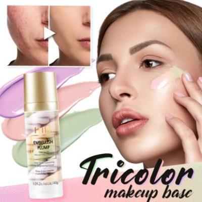 Rainbow Tricolor Makeup Base