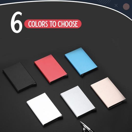 RFID Sleek Card Holder