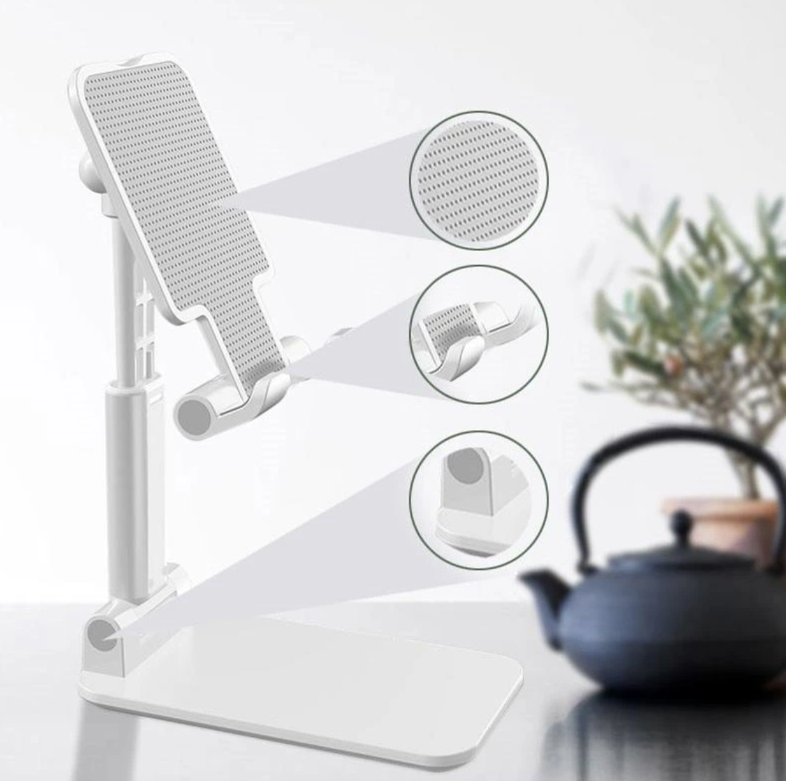 Ergonomic Adjustable Cell Phone Stand - Get 75% Discount – Wowelo