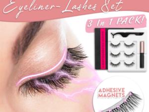 THUNDA Magnetic Eyeliner-Lashes Set