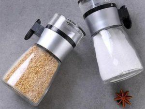 Push-type Salt Dispenser Spice Shaker