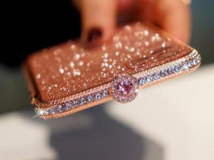 2020 Newest Crystal bling Anti-fall Border Case for iPhone