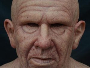 Hyper Realistic Old Man Skin Mask