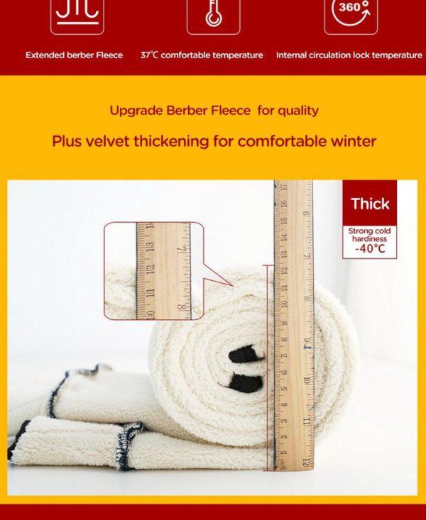 HIGH WAIST WINTER WARM LEGGINGS
