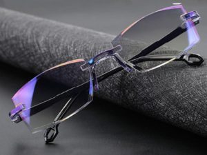 FoldFlat™ Sapphire Far & Near Dual-Use Reading Glasses