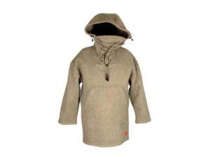 Men's Wool Anorak Outdoor Jacket