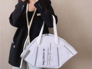 Face Mask Big Capacity Face Protection Handbag