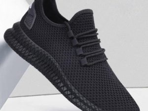 2021 Mesh Vulcanized Shoes for Men Glitch Needle Sneakers