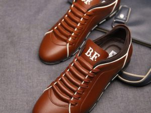 Bob Fraser Leather Sneakers By Carrter