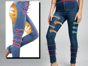 Perfect Shape Pro Slimming Jeans Leggings