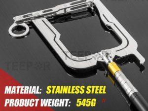 Teepor® - Multi-Purpose Dock Hook - Diamond shape + Rod
