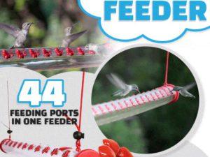 Hummrod Hummingbird Feeder
