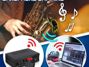 [PROMO 30% OFF] SaxoTech Wireless Saxophone Mic Clip