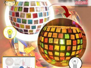 DIY Mosaic Candle Holder Kit